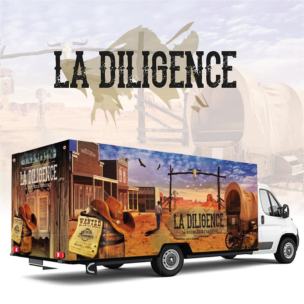 LA DILIGENCE by BOUCHERIE FRANÇOIS
