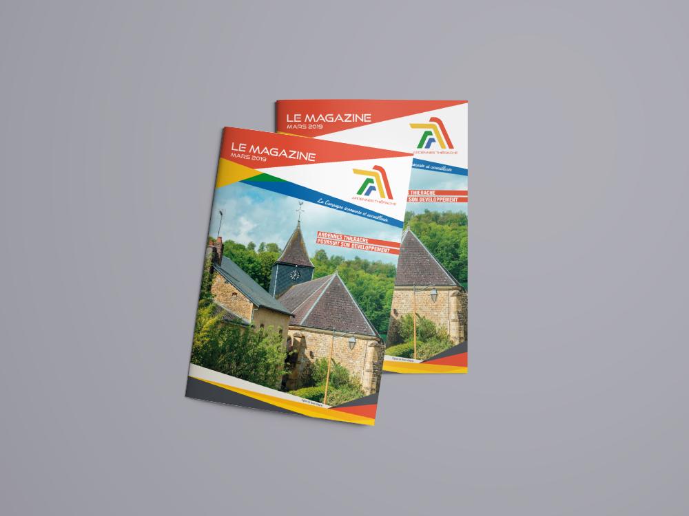 Conception et impression magazine Ardennes Thierache