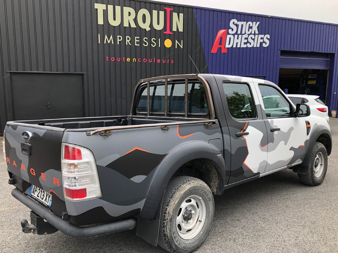 Total Covering Ford Ranger – Camouflage
