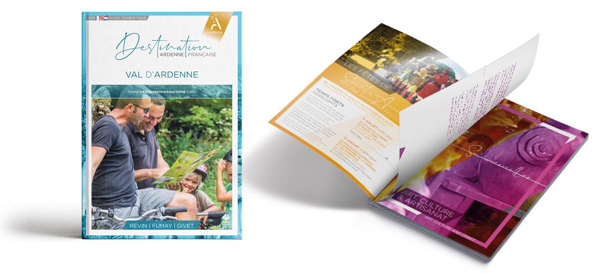Guides touristiques des offices de Tourisme de la marque Ardenne