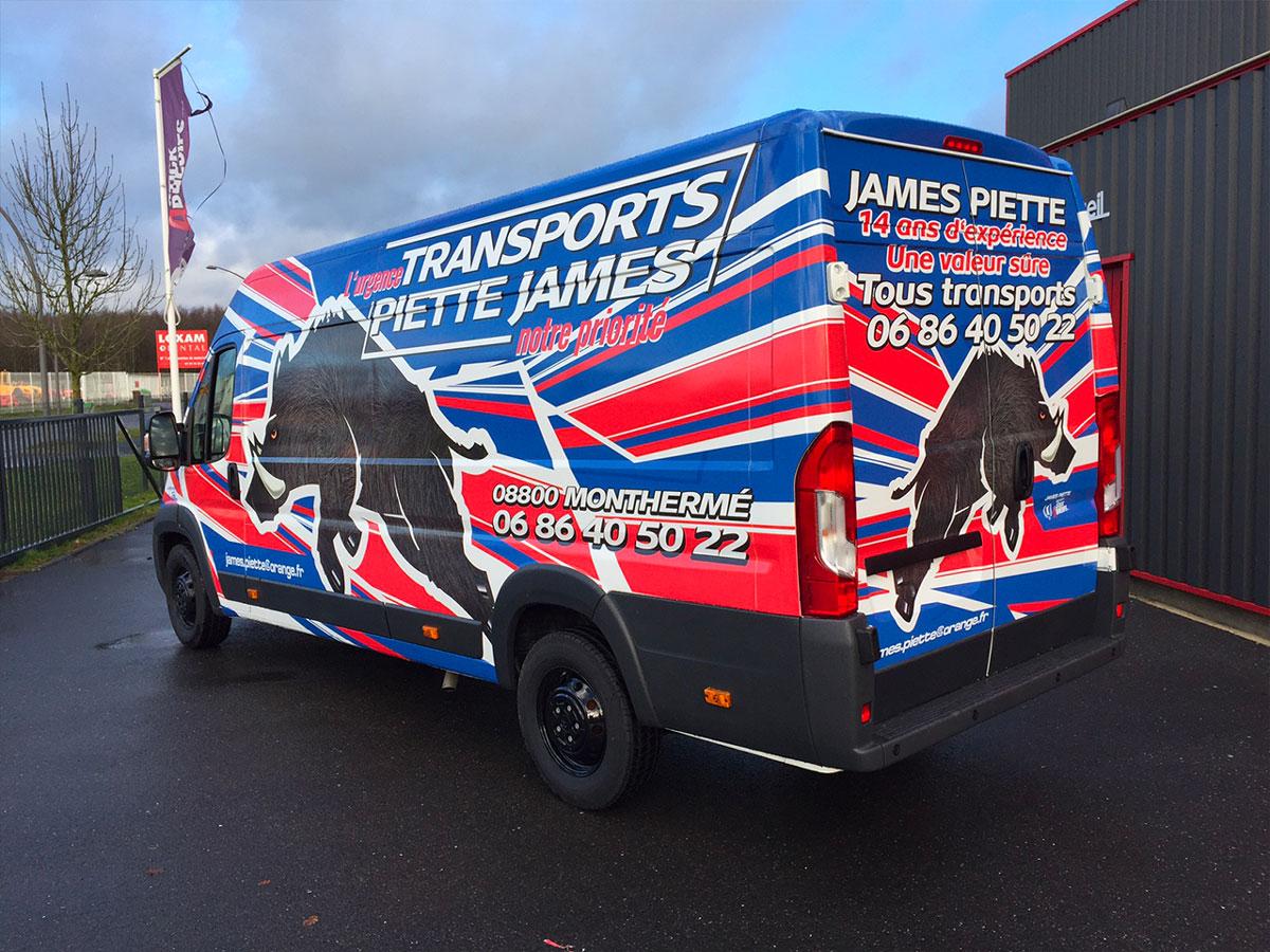 Transports Piette James